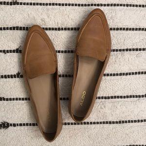 Aldo Leather Flats